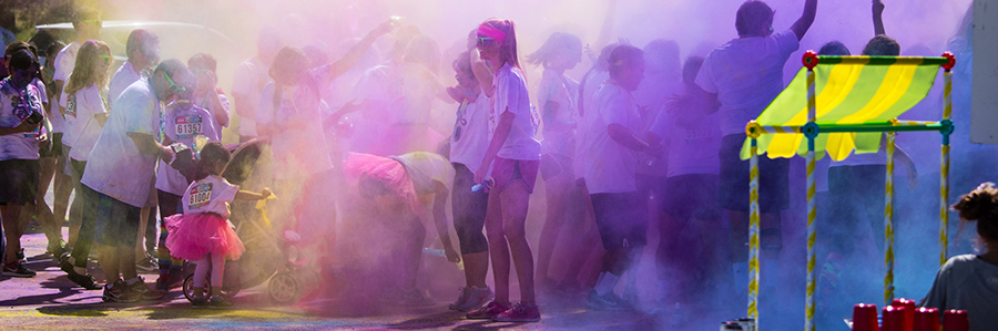 Canva - Group of People Color Powder Festival